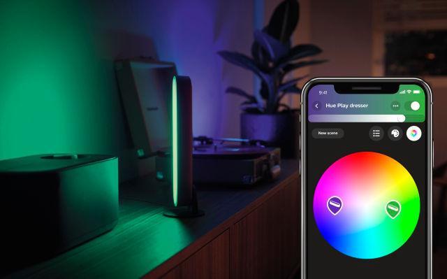 Мобильное приложение Philips Hue