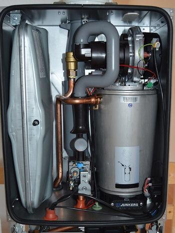 Конструкция газового котла отопления