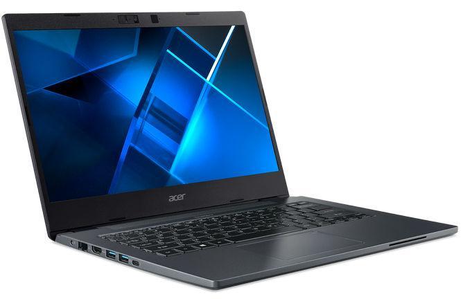 Acer TravelMate P4 - разъемы слева