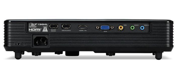 Acer XD1520i - порты